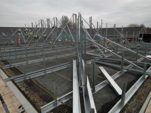 Flat to Peak Roof conversion